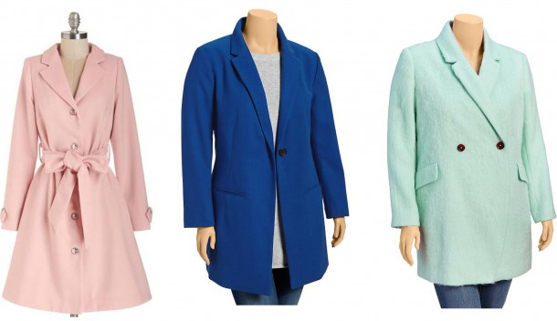 colored coat