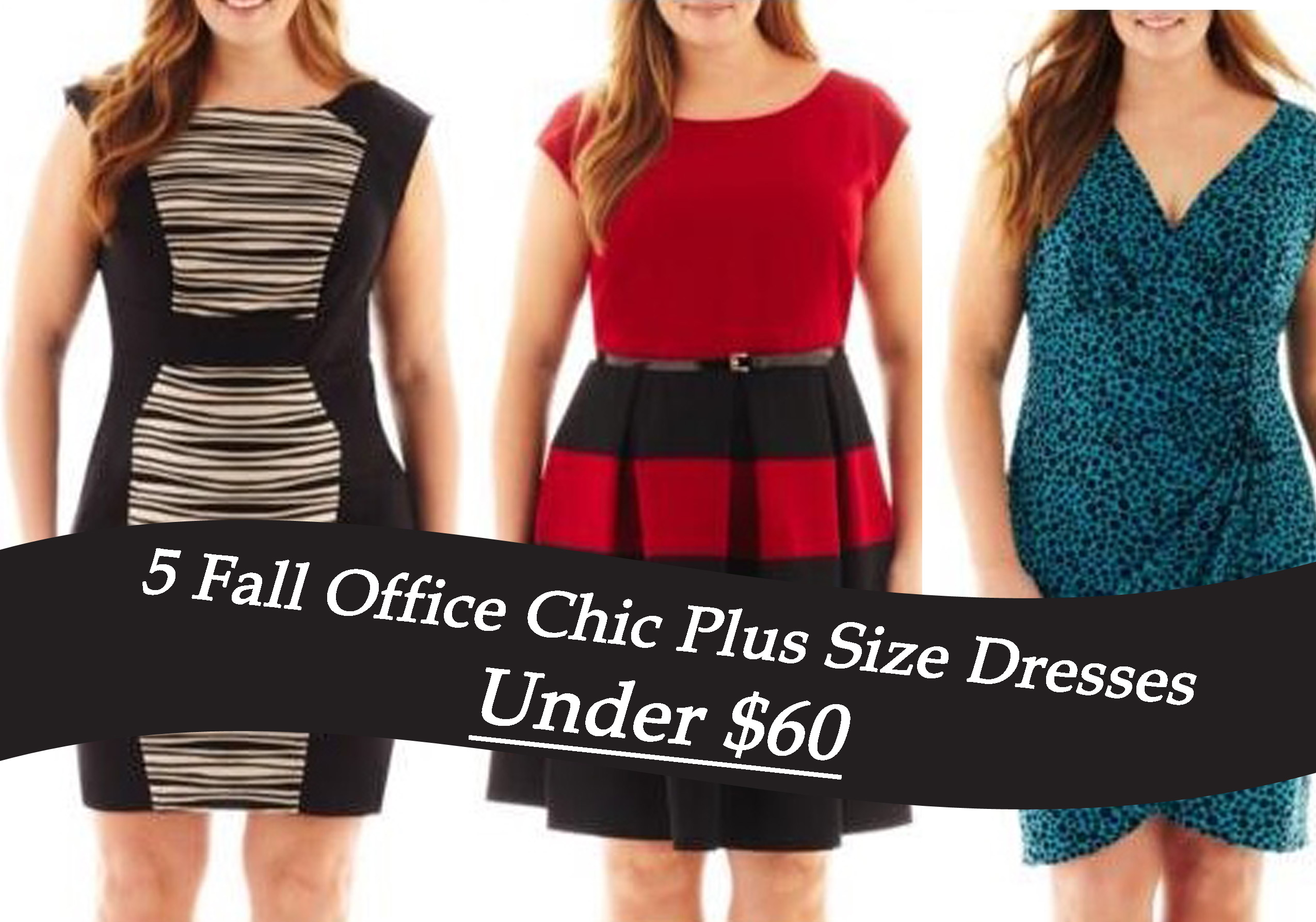 WORK-WEAR WEDNESDAY: 5 FALL OFFICE CHIC PLUS SIZE DRESSES ...