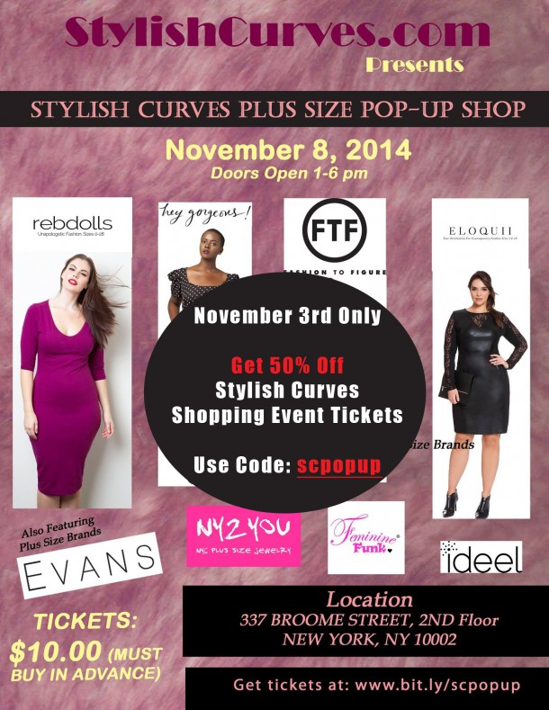 Stylish Curves Pop Up  discount3