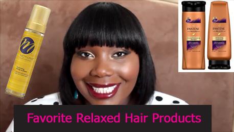 relaxed hair 2