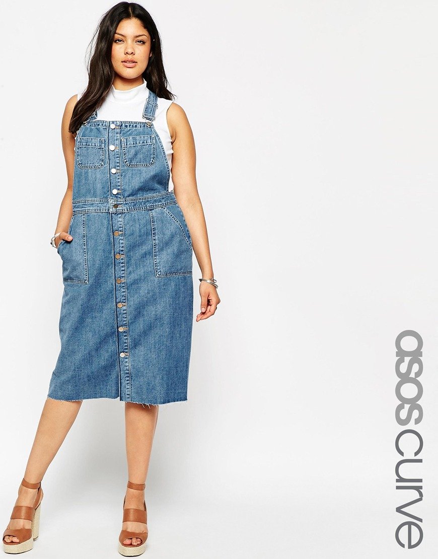 11 plus size denim and chambray dresses