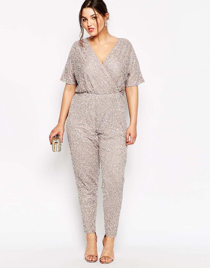 A Sequin Plus Size Jumpsuit, We Say Yes To That (Stylish ...