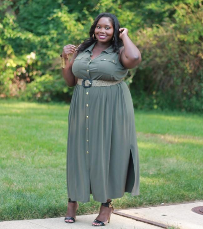 Lane Bryant Plus size maxi dress 2