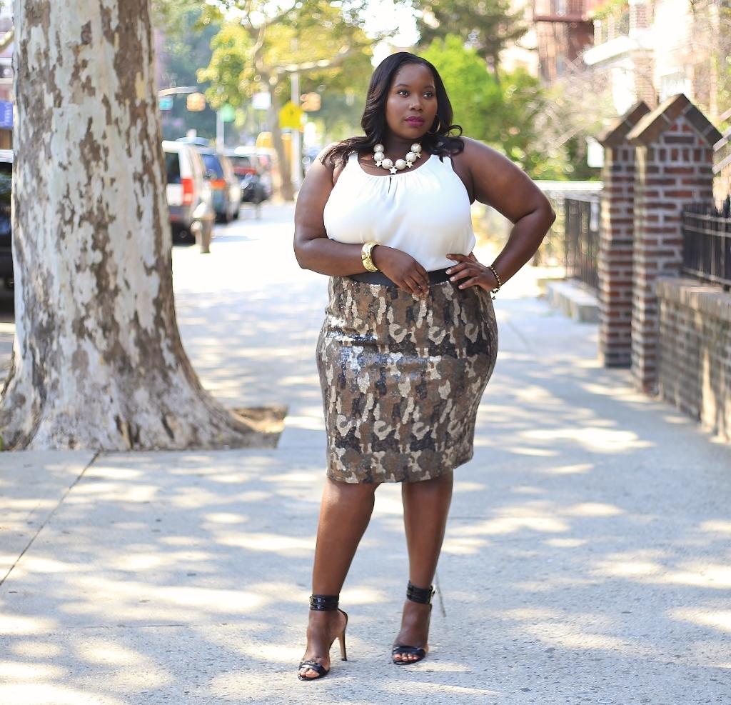 Lane Bryant camouflage sequin skirt.5 (1024x987)