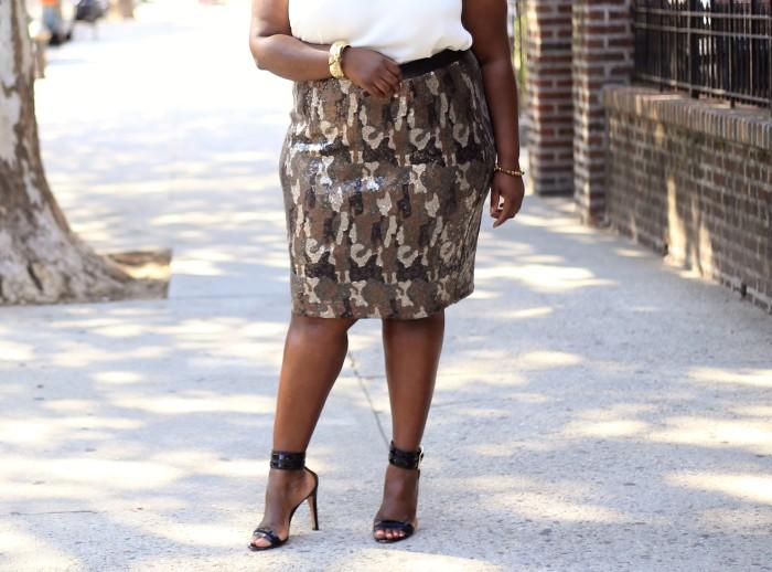 lane bryant camo skirt