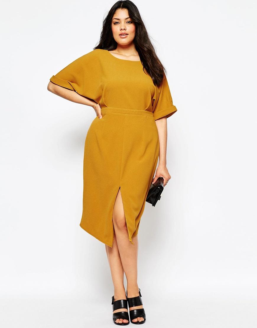 asos curve wiggle dress