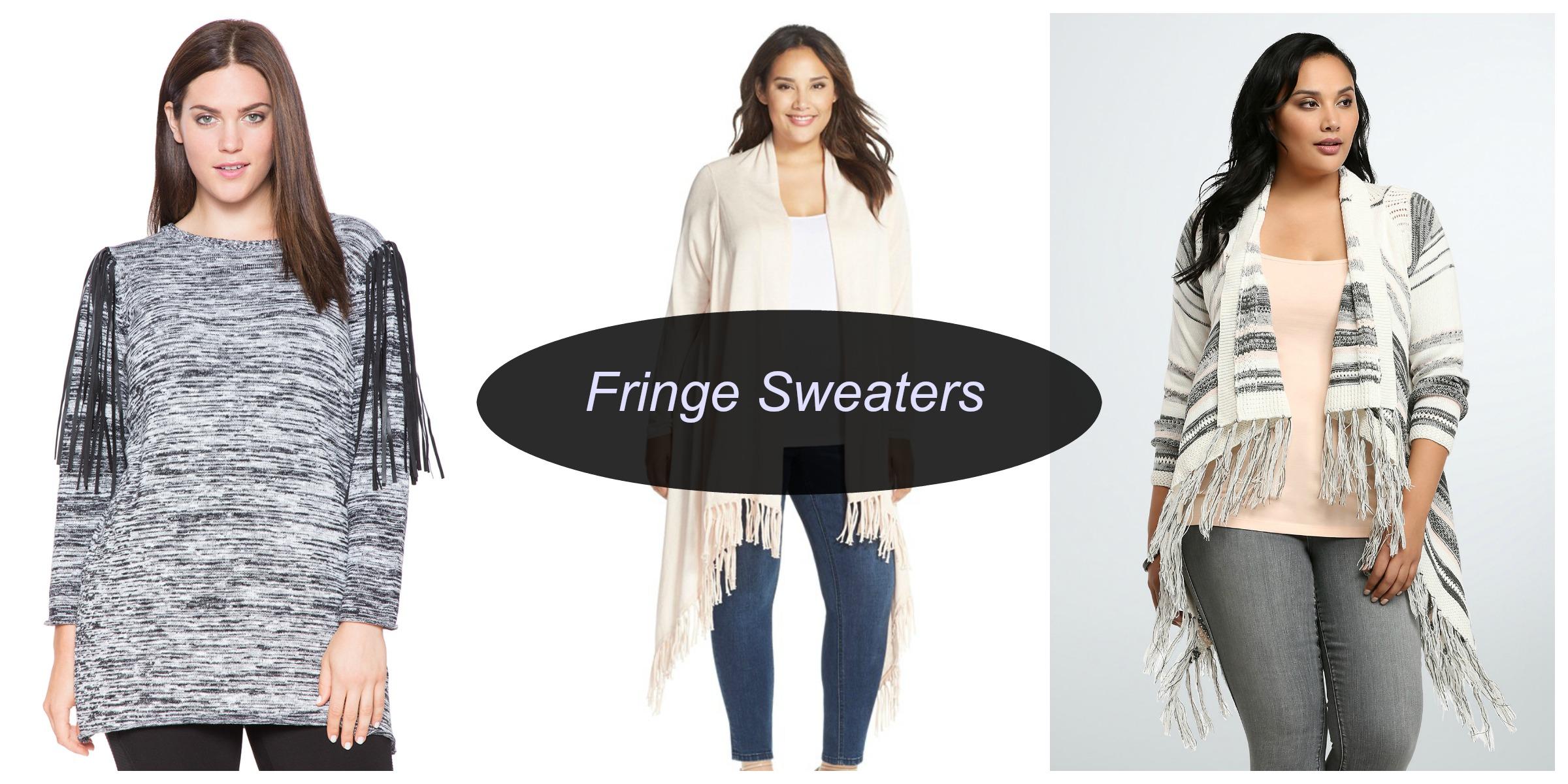 fringe sweaters