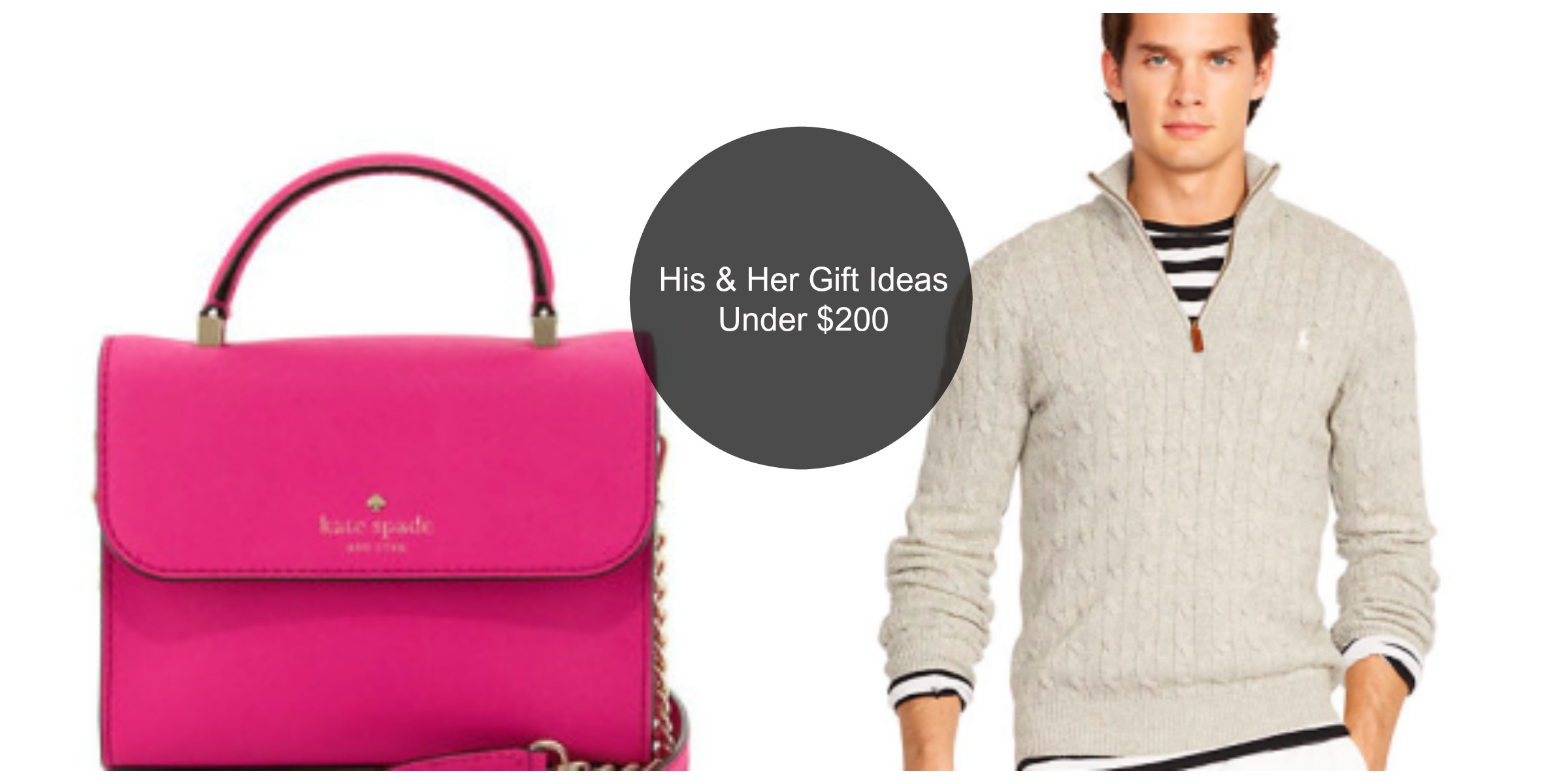 His and her gift ideas
