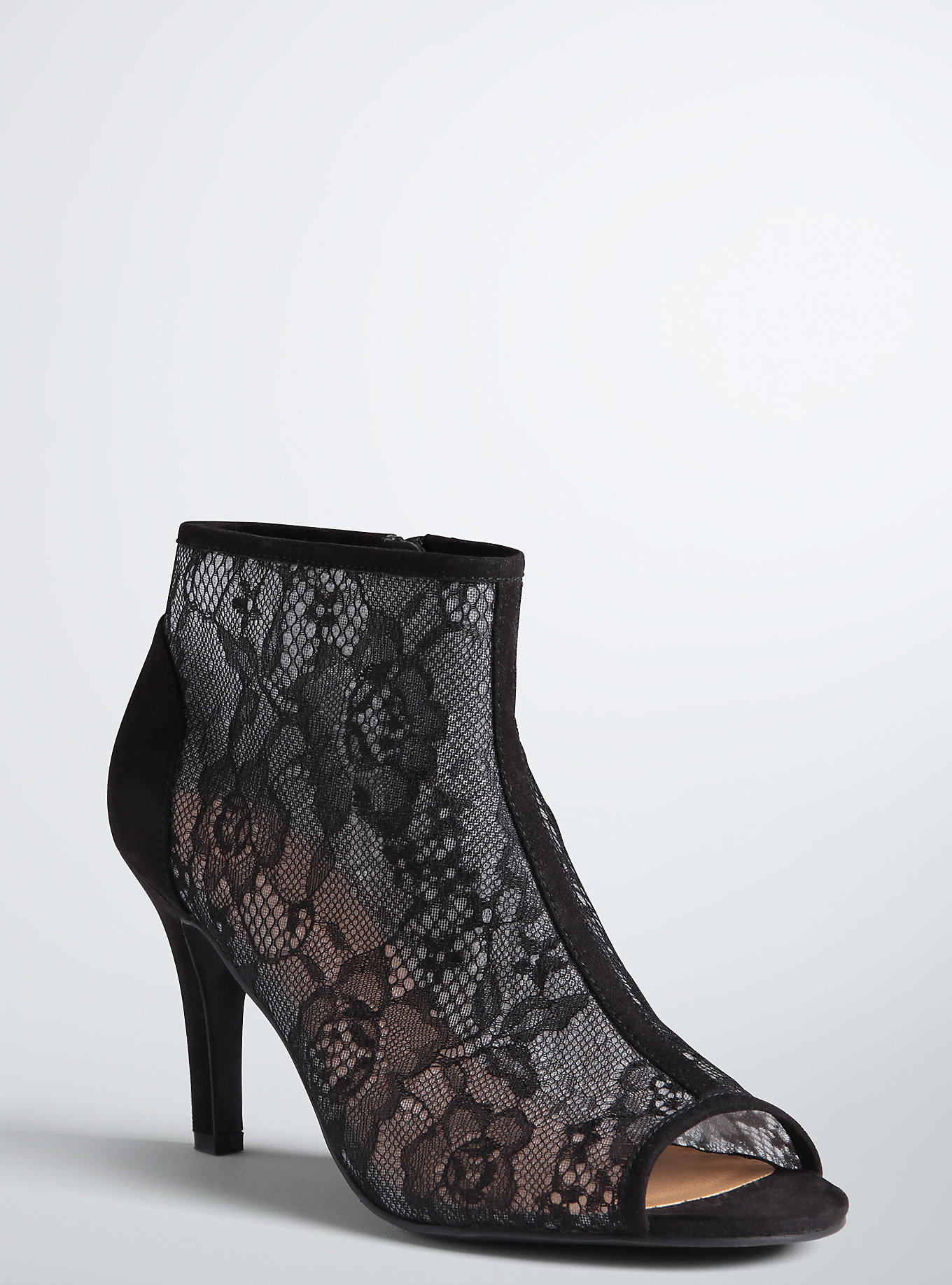 lace torrid ankle boots