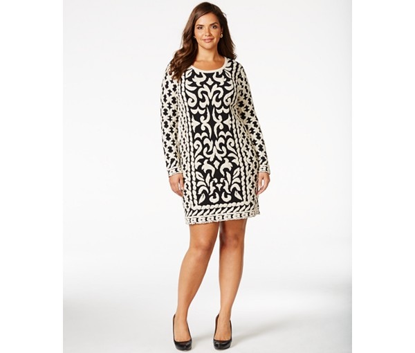 plus size sweater dress 3