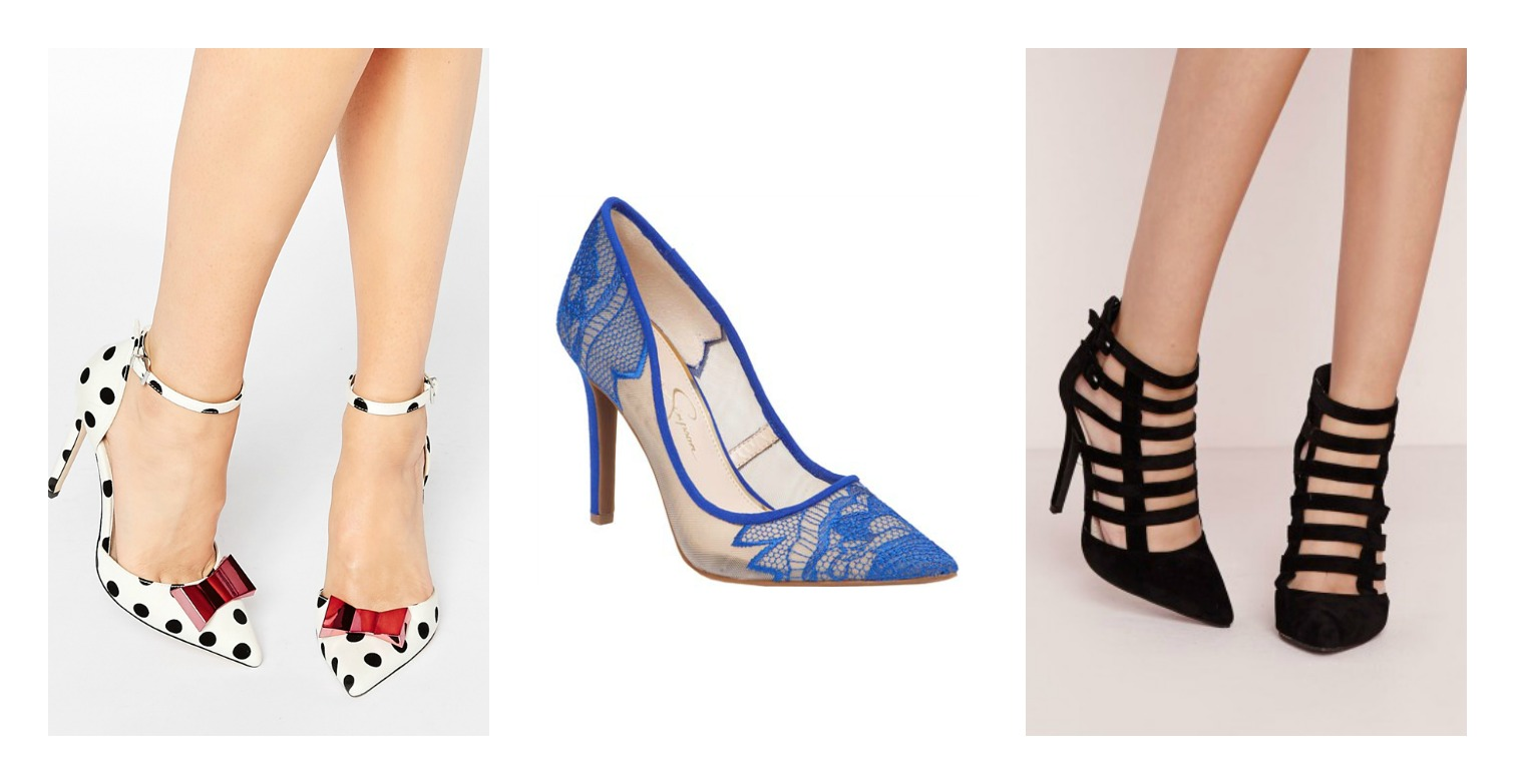 2016 spring shoe trends pointed toe heels