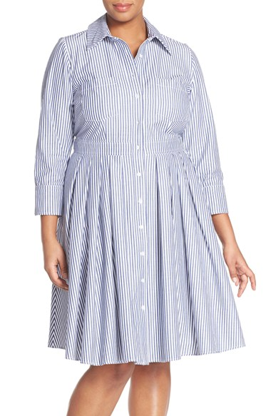 plus size shirtdresses2