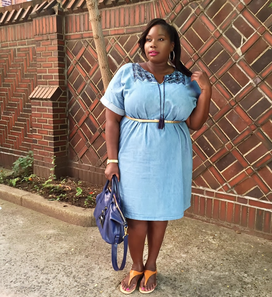 17 Casual Plus Size Denim Dresses To Rock This Summer ...