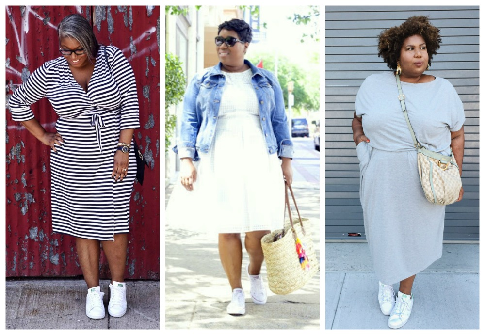 sneakers with dresses