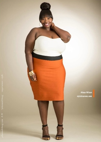 Ashley Stewart extended sizes campaign