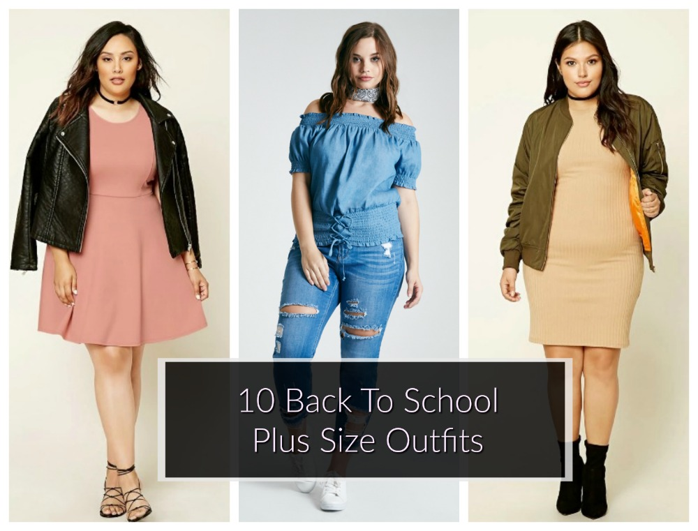 plus size back to school outfits