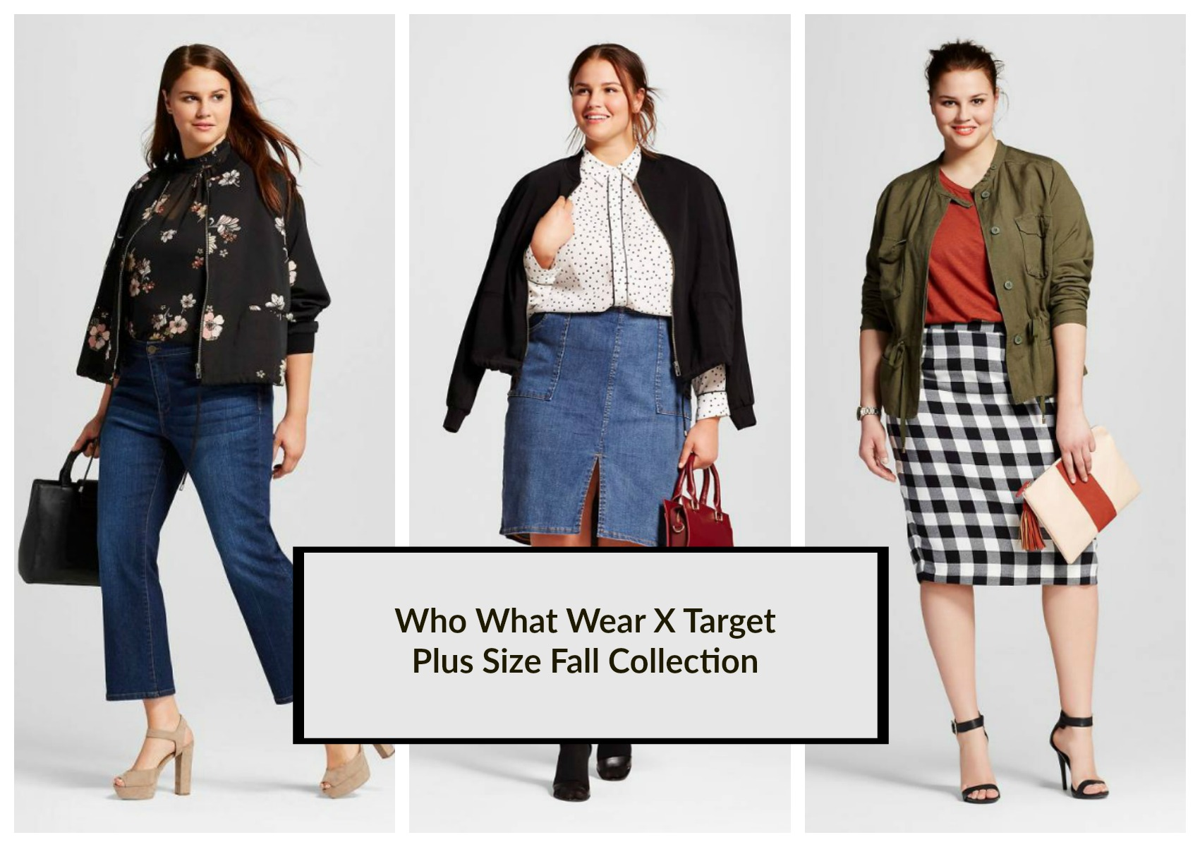 who what wear x target plus size fall collection 2