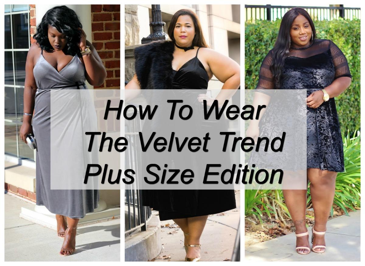 Velvet trend in plus size