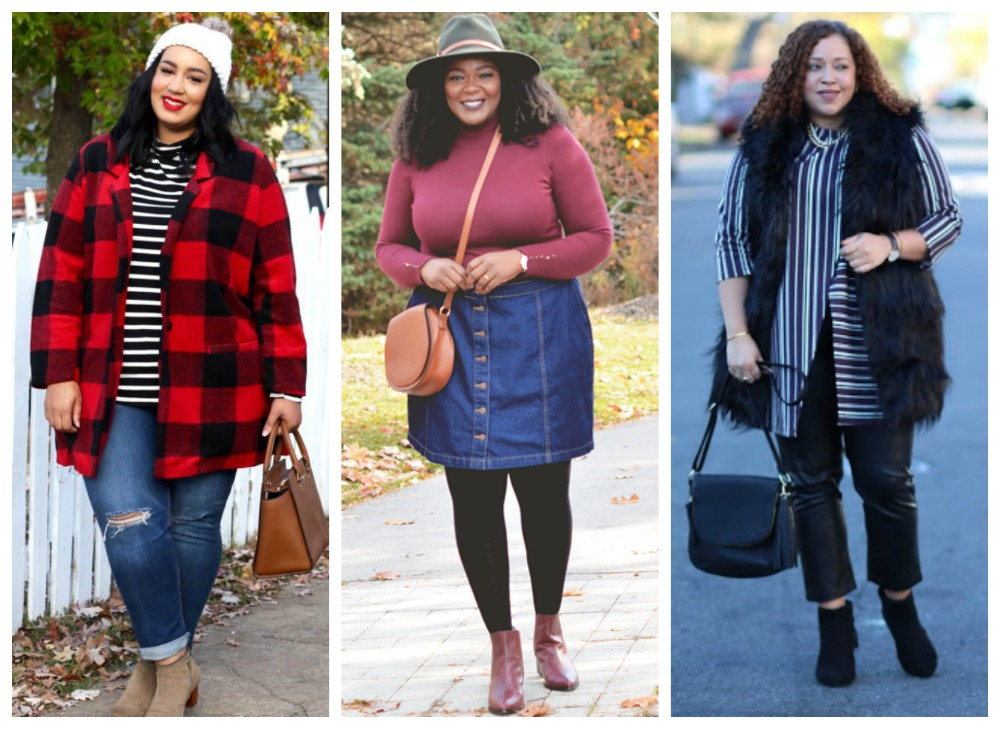 Thanksgiving outfit ideas for plus size women