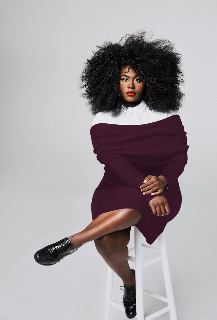 Danielle Brooks plus size collection with universal standard