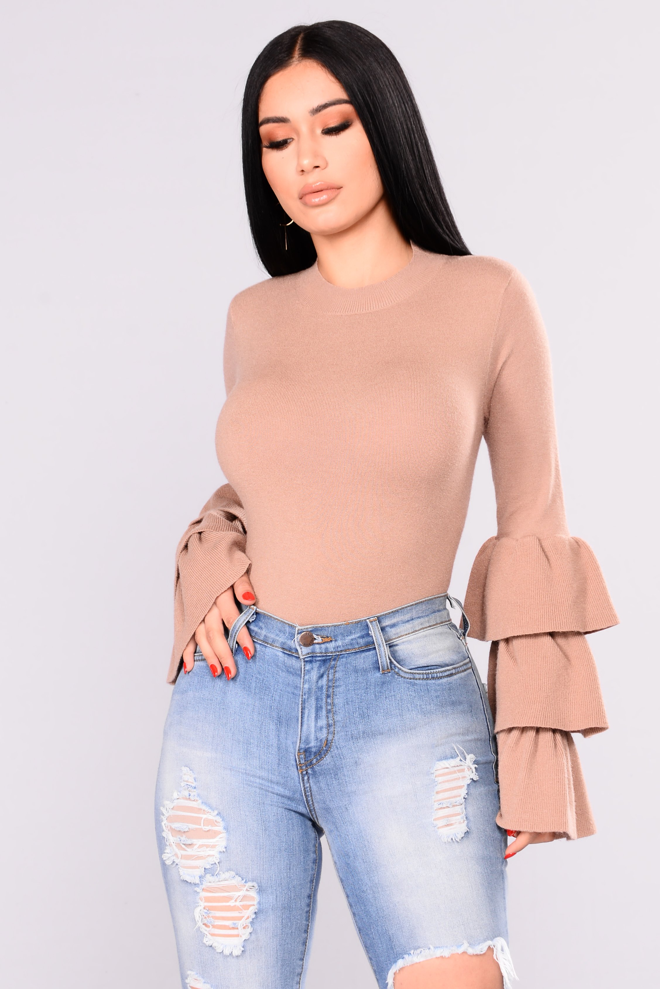 nova sleeve clothing sweater review bell got stylishcurves