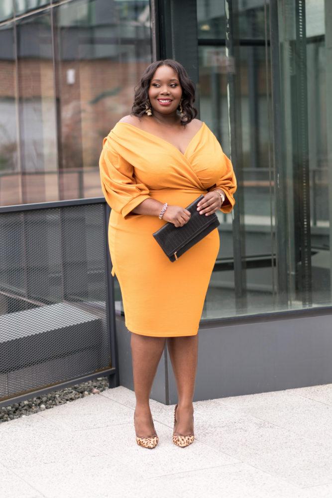 Boohoo plus size dresses