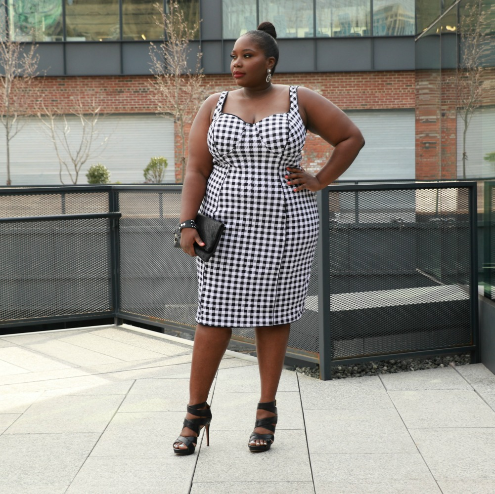 This Gingham Plus Size Dress Is So Chic, No Picnic Table ...