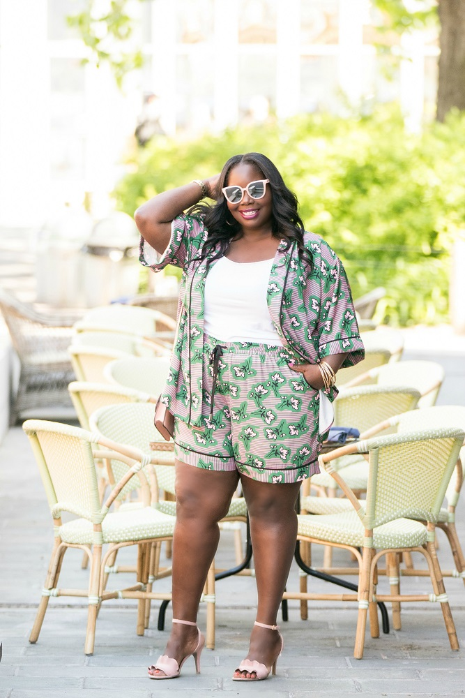 Eloquii plus size shorts for summer