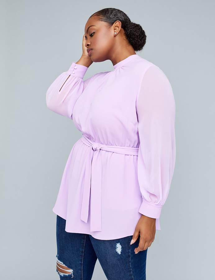 plus size tops that flatter a big stomach