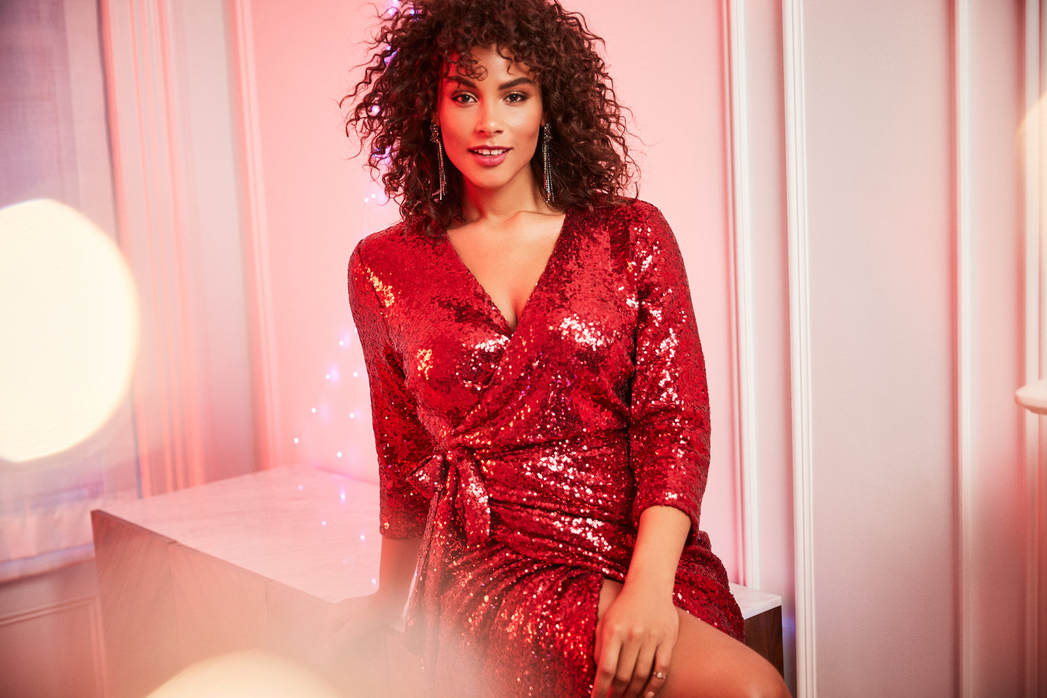plus size holiday party looks