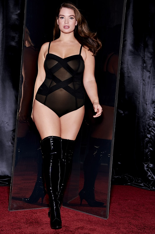 Torrid's plus size lingerie collection with Tara Lynn