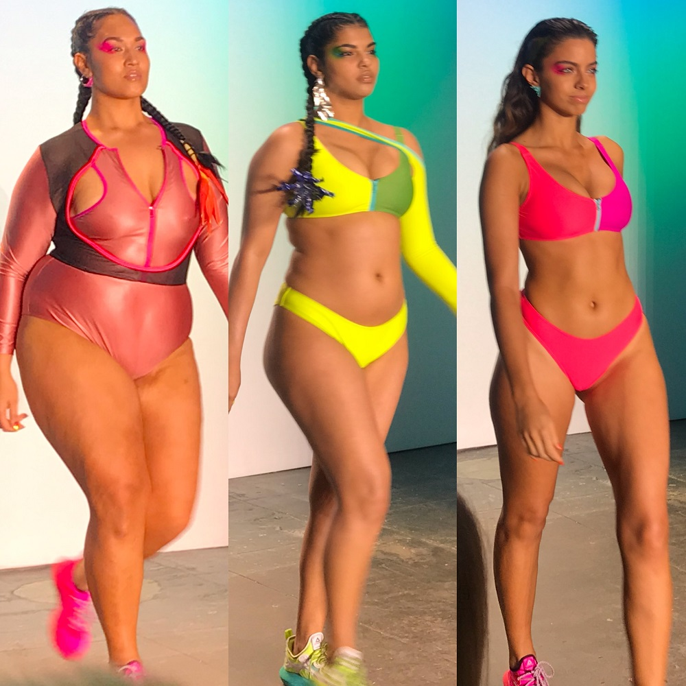 Chromat sustainable swimwear includes plus sizes