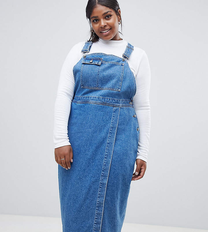Must Have Plus Size Denim Dresses You Need For Spring ...