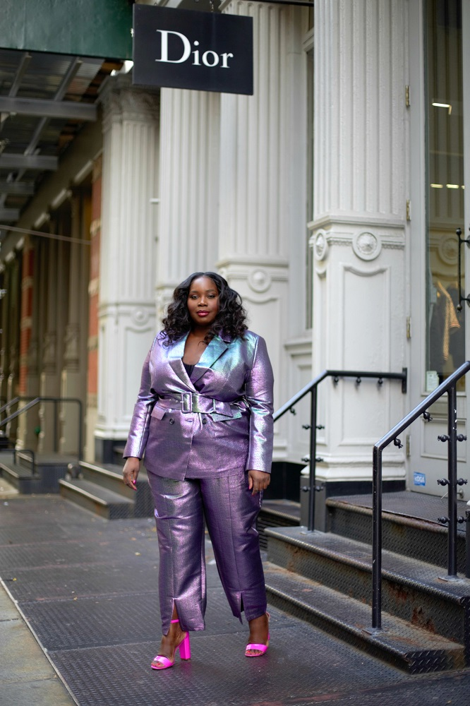 10 Head Turning Holiday Party Plus Size Pant Suits