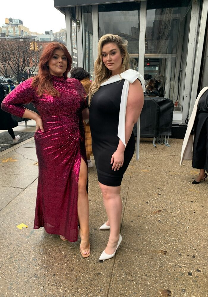 We Love These Plus Size Street Style Looks At New York Fashion Week