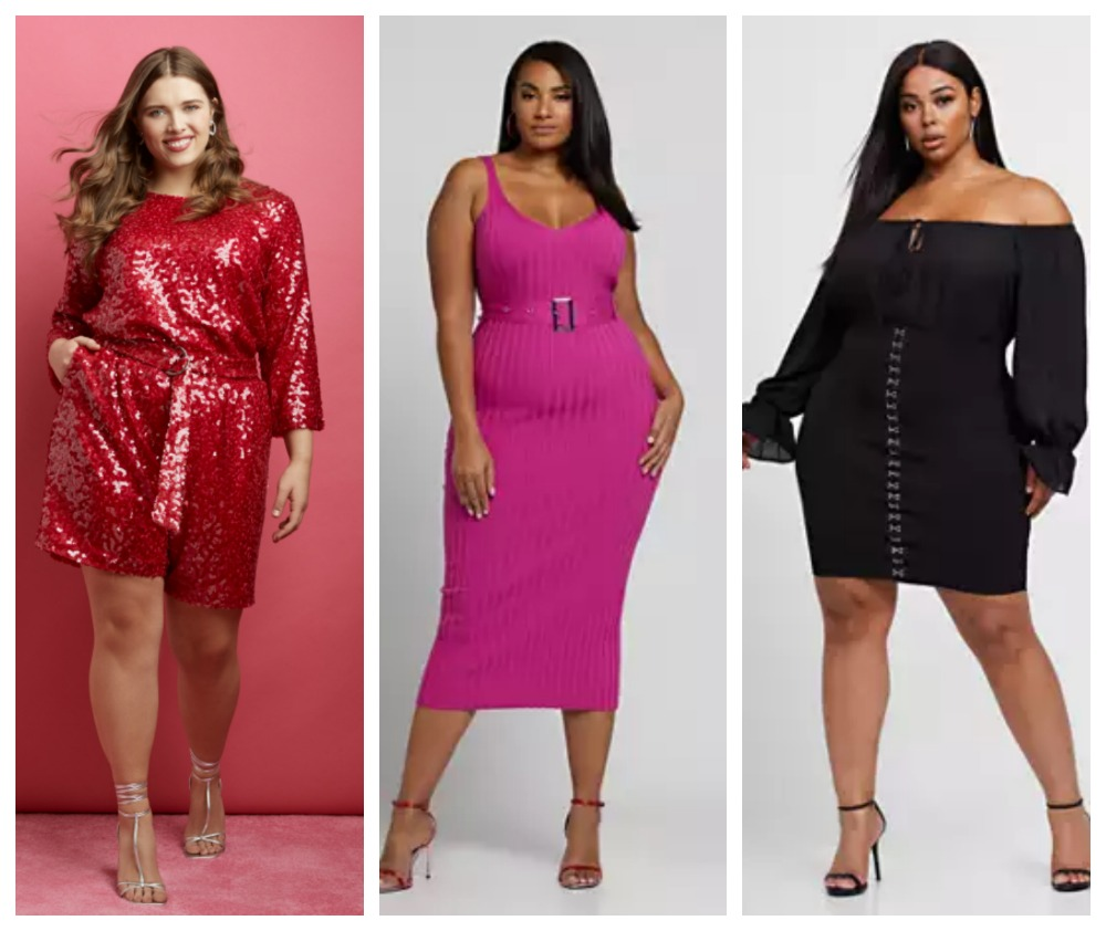 valentines day plus size outfit ideas