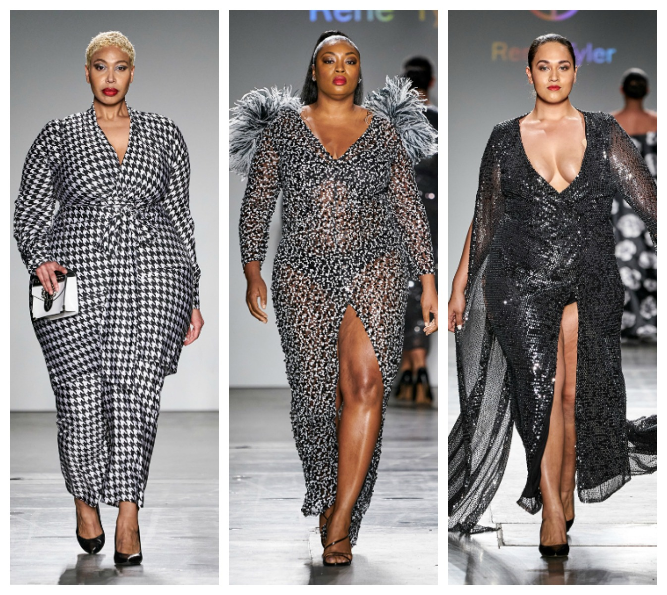 Plus Size Designer Rene Tyler Stole The Show At New York Fashion Week