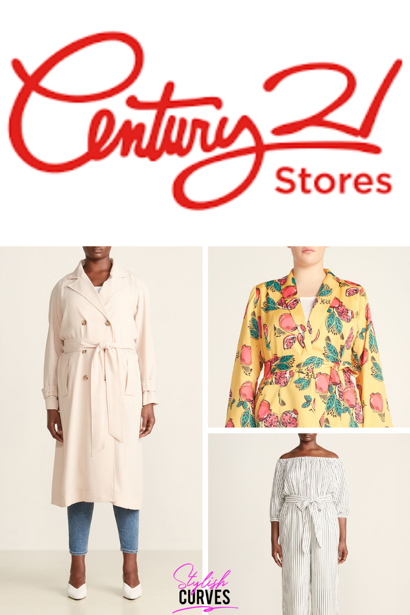 Century 21 plus size clothing now available