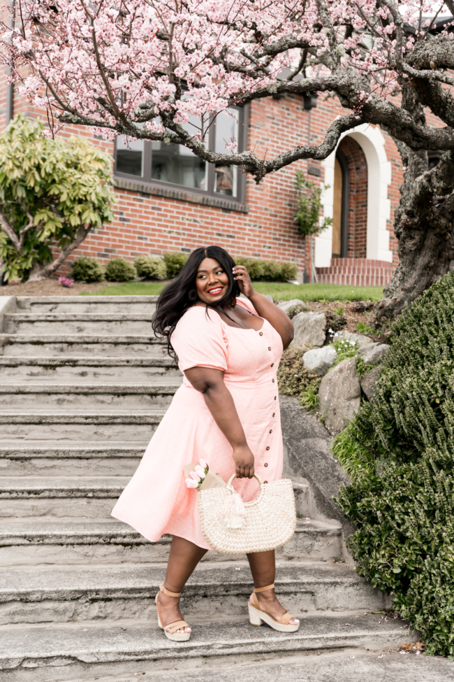 black plus size fashion bloggers