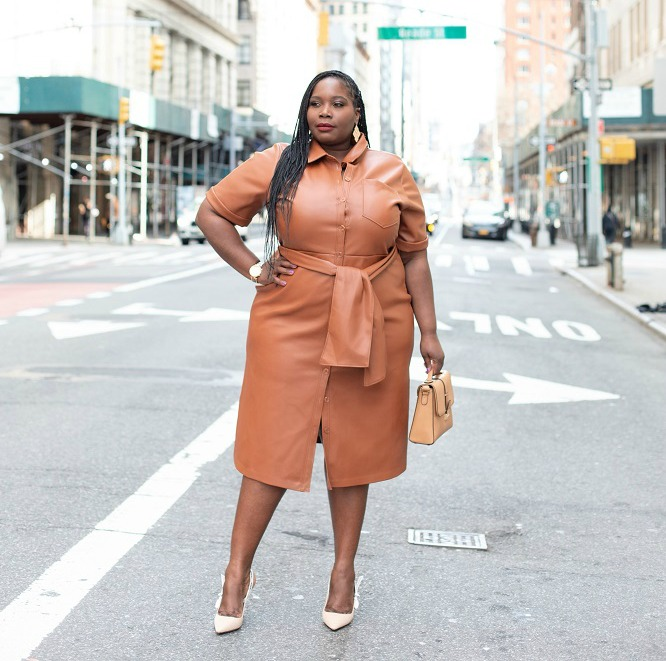 Here's How I'm Wearing The Colored Leather Trend