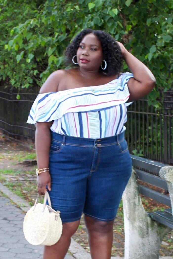 Finding The Perfect Denim Plus Size Bermuda Shorts