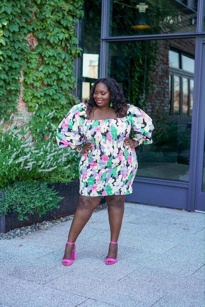H&M Plus Size Summer Dresses Under $100