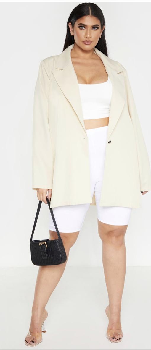 plus size work blazer