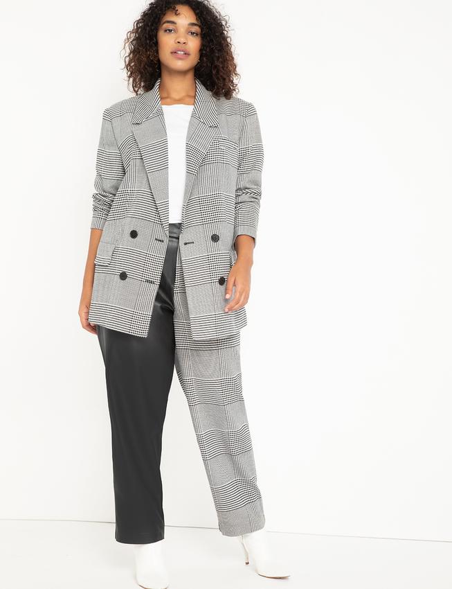 plus size oversized blazer