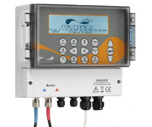 Clamp on Ultrasonic Flow Meters with a Wall mounted Display