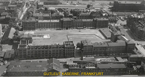 Aerial Gutleut Kaserne 1950