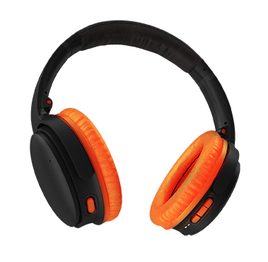 Professional Headphones_orange