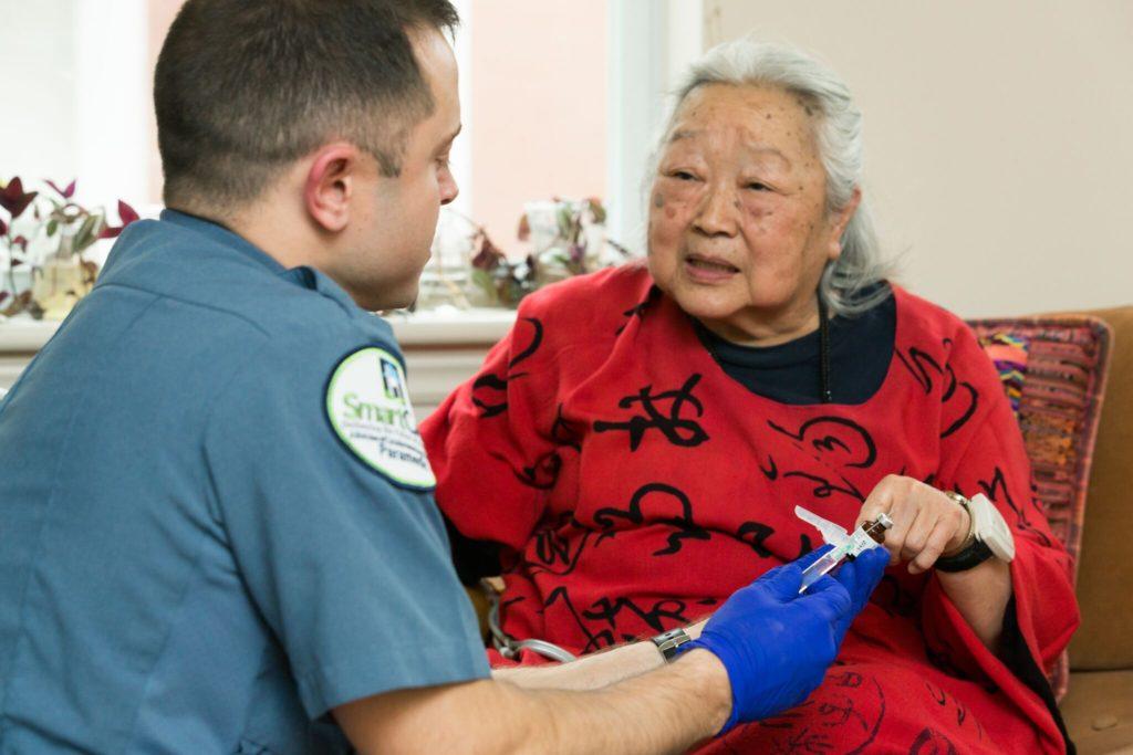 SmartCare Paramedics Treat Patients At Home