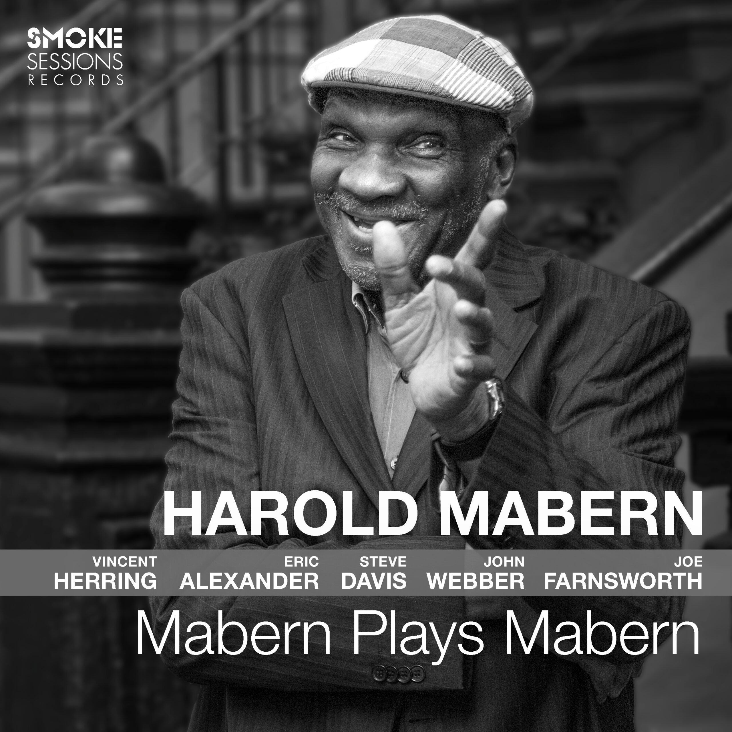 Harold Mabern MABERN PLAYS MABERN Cover 3000px