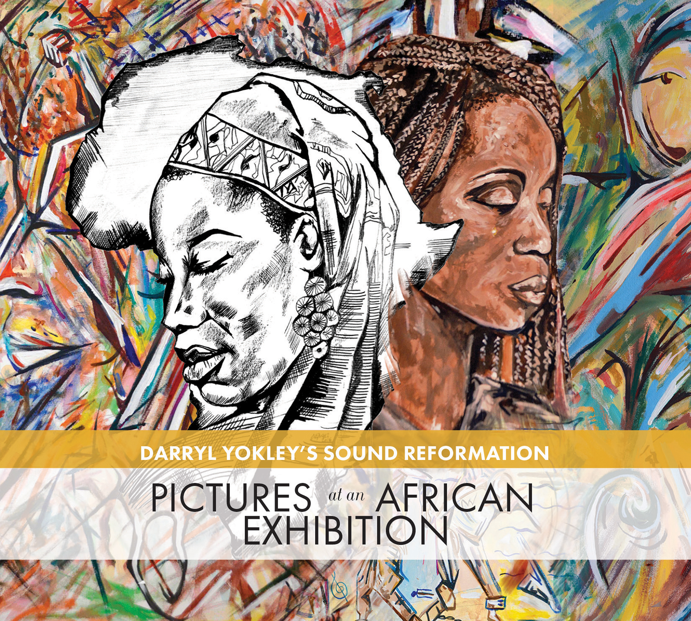 Darryl Yokley Pictures At An African Exhibtion